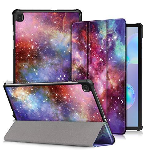 Xuanbeier Ultra Delgado Funda Compatible con Samsung Galaxy Tab S6 Lite 10.4 Pulgadas SM-P610/P615 2020 Tableta la Función de Reposo/Activación Automática,Galaxy