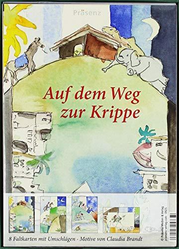 KK-Box Auf dem Weg zur Krippe: 8 Faltkarten mit Umschlägen von Claudia Brandt