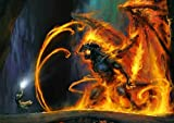 My Little Poster Plakat Balrog Gandalf Kampf 2 Lord DER
