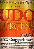 Udo Jürgens Essen 2007 Konzert-Poster A1