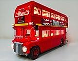 brickled LED Light Kit for Lego 10258 London Bus Set USB Powered (Lego Set not Included)