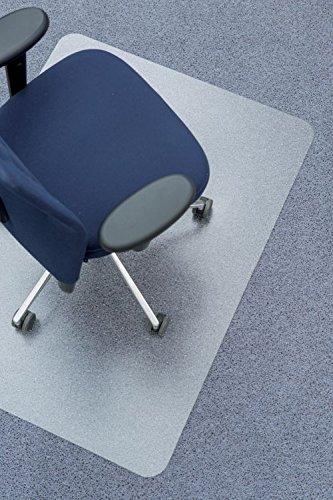Bodenschutzmatte für Teppichboden von Clear Style | Aus transparentem Polycarbonat | 91.4 x 122 cm
