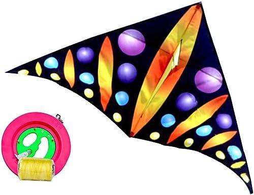 mejor moda ZHWEI Cometas Cometa Cometa Triangular Triangular Triangular Longitud De Línea 100   200m Fácil De Volar Adultos Niños Cometa (Color   01, Tamaño   Line Length 200m)  sin mínimo