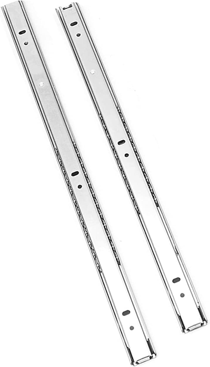 FRSDMY 27mm Wide Max New Shipping Free Shipping 56% OFF Steel Fold Rail Drawer Slide 1Pair Ball