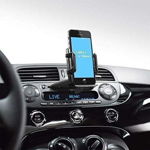 Para La Ranura CD Genio Auto Monte Invención! cablesnthing Universal Montaje para Para El Coche Para Teléfonos inteligentes, Teléfonos móviles y GPS Dispositivos Trabaja Perfecto Para iPhone 4