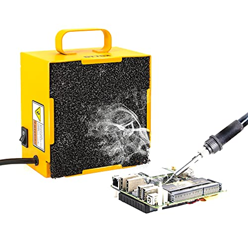 KOTTO Solder Smoke Absorber Remover Fume Extractor Smoke Prevention Absorber DIY Working Fan for Soldering Station