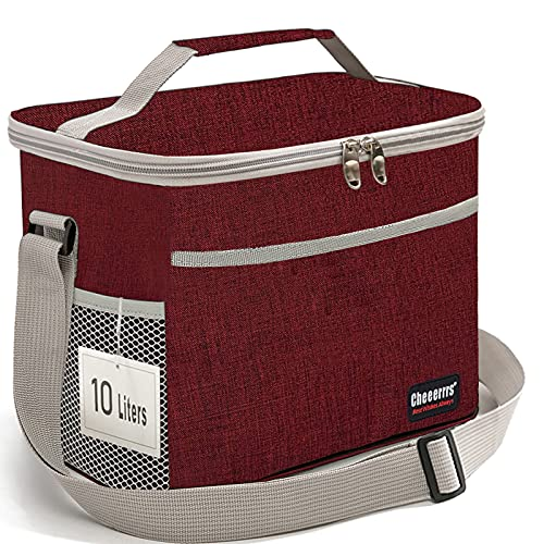 10L!10L!10L!Lunch Bag,Lunch Box,Insulated Lunch Box Bag for Women Men, Reusable Lunch Bag Box for...