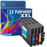 platinumserie 12cartuchos XXL compatible para Ricoh GC de 21Black cian Magenta Yellow