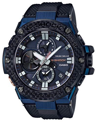 [カシオ] 腕時計 ジーショック G-STEEL スマートフォン リンク カーボン ベゼル GST-B100XB-2AJF メンズ ブ...