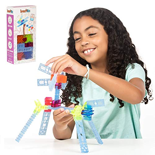 Brackitz Inventor STEM Discovery Building Toy for Kids Ages 3, 4, 5, 6+ Year Olds   Best Boys & Girls Educational Engineering Construction Kits   Creative Fun Learning Toys for Children   28 Pc Set
