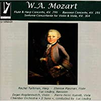 Mozart Flute & Harp Bassoon Concerto Sinfonia Conc