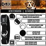Hundehalsband Halsung aus Air-Mesh verschiedene Farben und Größen XS, S, M, L, XL: verstellbar, leicht, atmungsaktive, gepolstert, luftdurchlässig, soft, weich, stark, stabil, farbig, für große und kleine Hunde (Leine und Geschirr separat erhältlich) (Farbe Schwarz, Größe XS – 1,5 x 21-30 cm) - 8