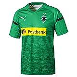 PUMA Herren BMG 3rd Shirt Replica with Sponsor Logo Trikot, Bright Green Black, L