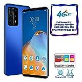 2020 Smartphone Android Recién Desbloqueado-128 GB De Espacio De Almacenamiento-2200mah-Azul