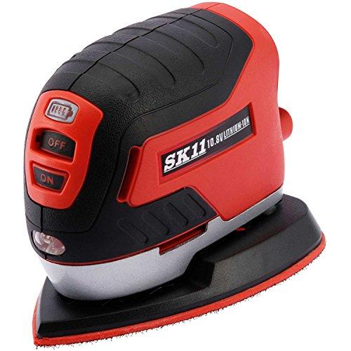 SK11 10.8V 充電パームサンダー (本体のみ/充電器・バッテリー別売) SPS-108V-15RL