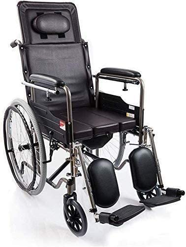Special sale item JKCKHA Manual Wheelchair Foldable Year-end annual account Multifunctional Elderly Scoot