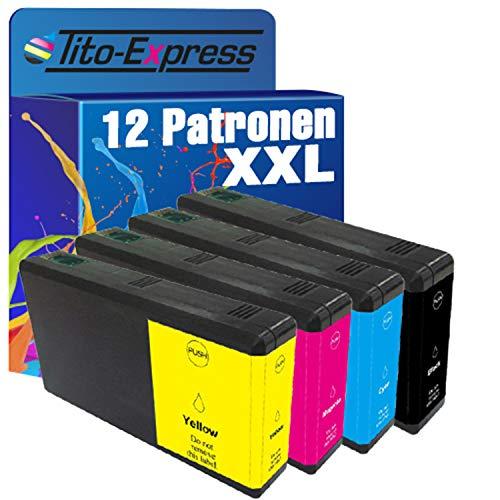 platinumserie 12cartuchos de tinta XXL compatible para Epson te7891de te7894WorkForce Pro WF 5100Series 5110DW WF-5190DW 5600Series 5620DWF WF-5690DWF