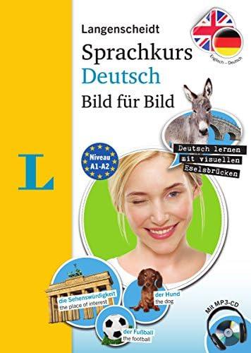 Langenscheidt German Language Course Picture by Picture The visual German language course coursebook product image