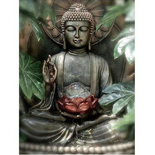 MAIYOUWENG Jigsaw Puzzle 1000 Stück Holzpuzzle Lotus Buddha-Statue Familienschmuck, Einzigartiges Geburtstagsgeschenk Geeignet Für Jugendliche Und Erwachsene