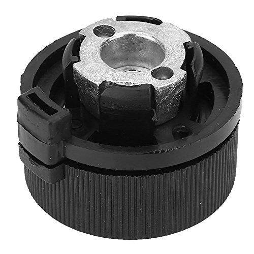 MAGT Adapter zbiornika na gaz, 1 szt. złącze do kuchenki ze stopu aluminium na zewnątrz turystyka pieca adapter długi adapter do butli gazowej trwałe akcesoria do pieca