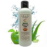 Khadi Herbal Khadi Natural Aloe Vera Sunscreen Lotion, 200 ml
