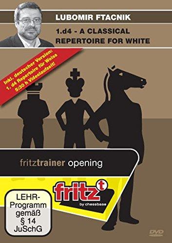 1. D4–Repertorio para blanco: vídeo de ajedrez Entrenamiento: Inicio