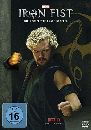 Marvel's Iron Fist - Die komplette 1. Staffel [4 DVDs]