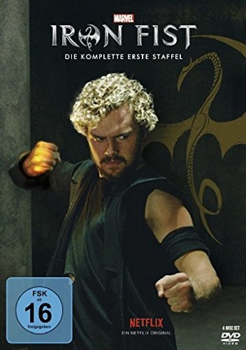 Marvel's Iron Fist - Die komplette 1. Staffel [4 DVDs]