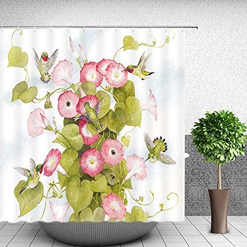 Tenda da doccia con vernice albero di limone frutta Tende da doccia Resistente alla muffa 180 * 180 cm Tessuto stampato in poliestere impermeabile e antimuffa per tenda da doccia impermeabile per