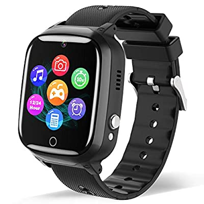 Smart Watch for Boys Girls - with Phone Call MP3 Music Player 7 Games Camera Alarm Clock Calculator for 3-12 Years Student as Birthday Gift and Daily by WILLOWWIND