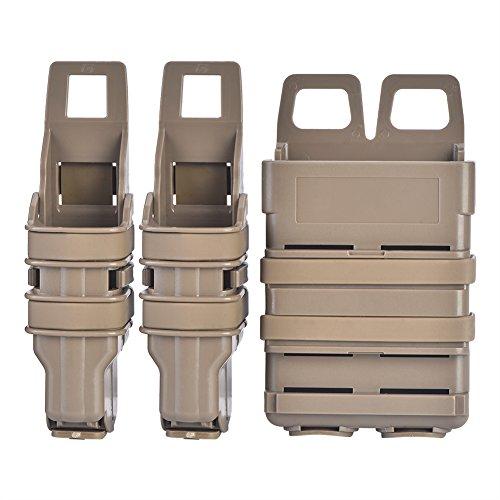 Fast mag Molle Táctico Funda Bolsa de Revista mag Tactical Airsoft Fast Bolsas de Titular Rifle Pistola Bolsa Conjunto para Militares Caza