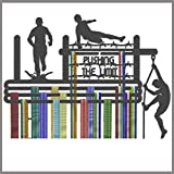 The Runners Wall Medal Hanger – Medal Holder – Medal Display – Running Gifts – Obstacle Race Medal Hanger