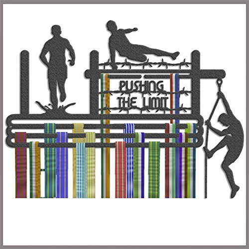 The Runners Wall Medal Hanger – Medal Holder – Medal Display – Running Gifts – Obstacle Race Medal Hanger