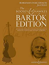 Romanian Folk Dances for Cello - Stylish arrangements - The Boosey & Hawkes Bartók Edition - cello and piano - score and part - (BH 13204)