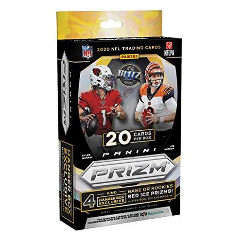 2020 Panini Prizm Football Hanger Box  20 Cards Per Box