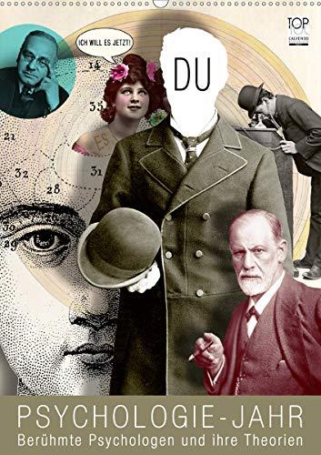 Psychologie-Jahr (Wandkalender 2021 DIN A2 hoch)