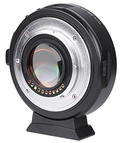 VILTROX EF-M2 Adaptateur électronique F Booster 0,71x pour Canon EF vers MFT M43 Micro F