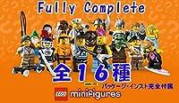 全16種 『パッケージ・説明書完全付属』  LEGO 8804 レゴ(R) ミニフィギュア シリーズ4 『フルコンプセット』 / 8804 LEGO Minifigures Series4, Complete set of the 16 minifigures - all the 16 different ones!