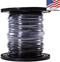 Southwire 500-ft 6-AWG Stranded Black Copper THHN Wire (By-the-Roll), PVC Insulation Material