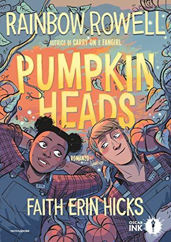 Pumpkinheads di Rainbow Rowell libro italiano cover