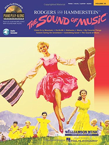 Piano Play-Along Volume 25 The Sound Of Music Pvg Book / Cd: Play-Along, CD für Gesang, Klavier (Gitarre)