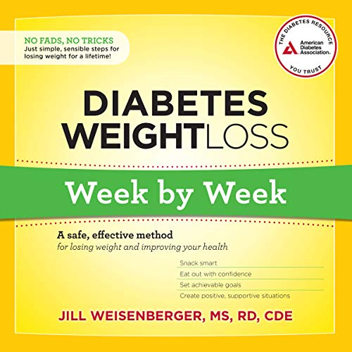 Diabetes Weight Loss: Week by Week     A Safe, Effective Method for Losing Weight and Improving Your Health              Auteur(s):                                                                                                                                 Jill Weisenberger MS RD CDE                               Narrateur(s):                                                                                                                                 Kitty Hendrix                      Durée: 5 h et 55 min     Pas de évaluations     Au global 0,0