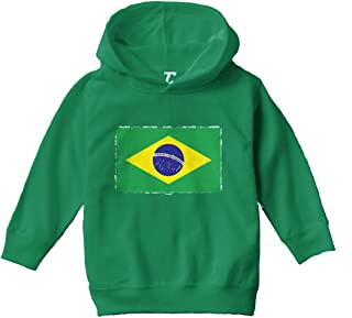 Canada Flag Crest Canadian National Soccer Football Pride 2-tone Hoodie Pullover