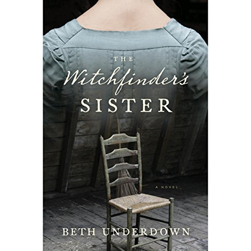 The Witchfinder's Sister audiobook cover art