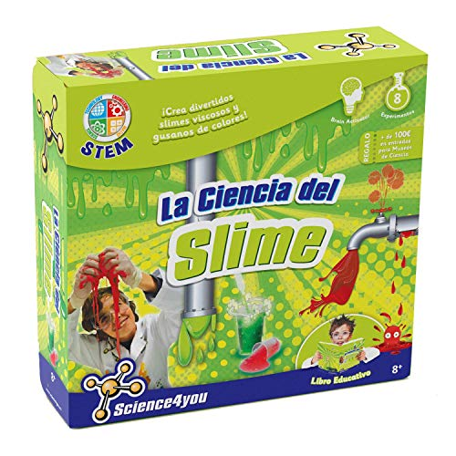 Science4you La Ciencia Viscosa del Slime - Juguete educativo y cientfico
