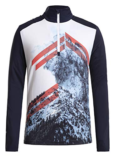 Icepeak Flint Shirt Homme, Dark Blue, FR : L (Taille Fabricant : S)