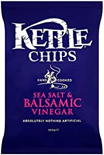 Crisps Kettle Chips Balsamic Vinegar & Sea Salt 6X150G