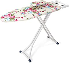 Folding Ironing Board, With Silicone Heat Pad Iron Pad Indoor Clothing Store Laundry Room Ironing Table (Color : A, Size :...