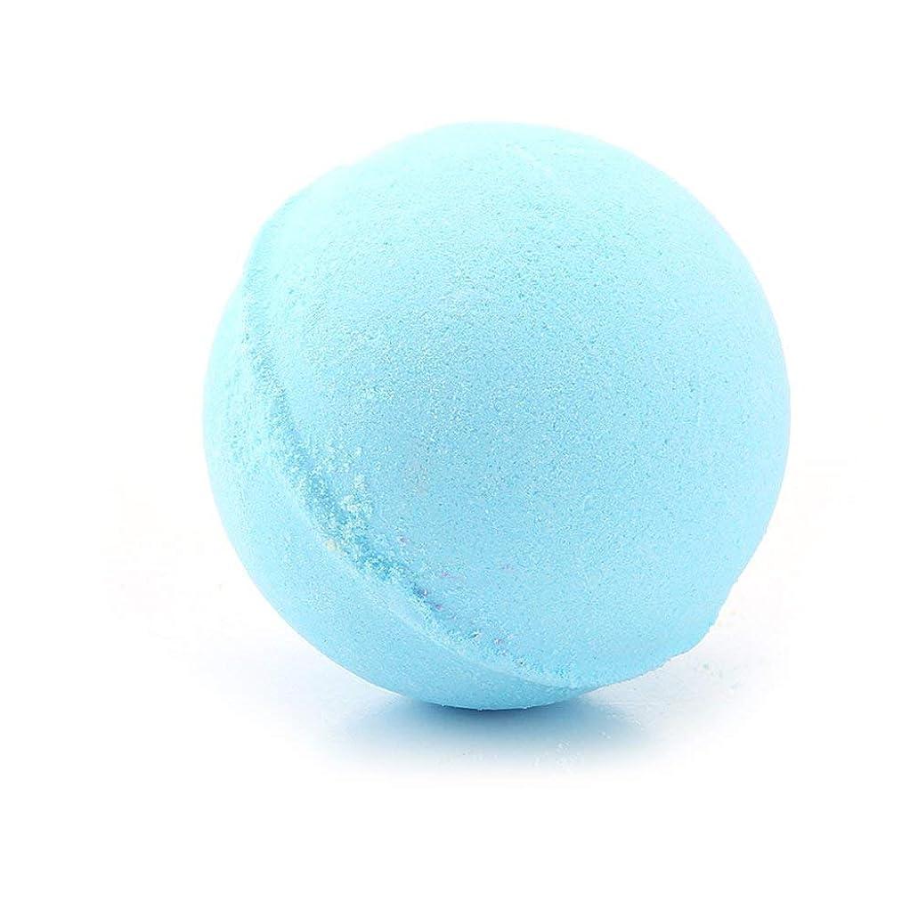 格納奨励しますバランス60グラム多色風呂ボールナチュラルバブルフィザー風呂爆弾ホームホテルのバスルームボディスパ誕生日プレゼント用彼女の妻のガールフレンド - ブルー