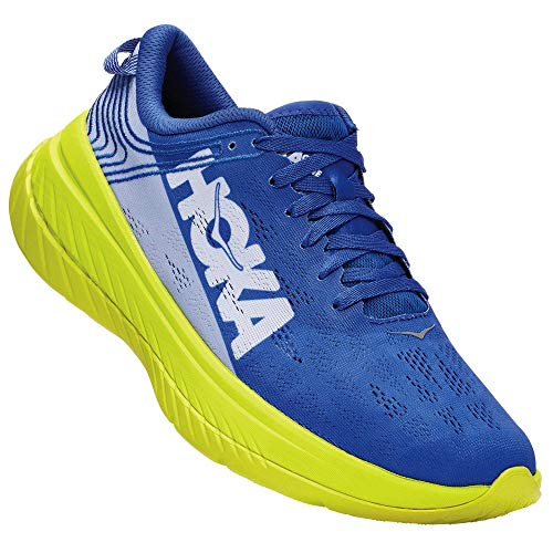 HOKA ONE ONE HERREN CARBON X AMPARO BLUE/EVENING PRIMRO...